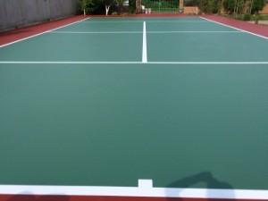 teren tenis rasini epoxidice